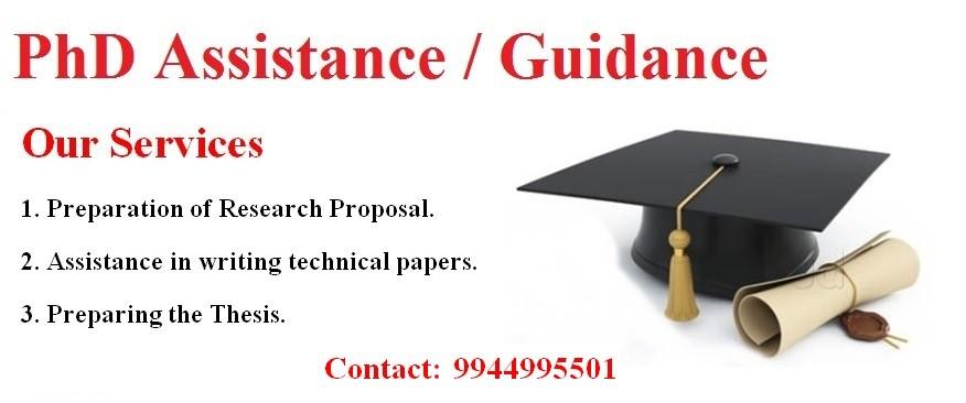PhD Guidance in Tiruppur